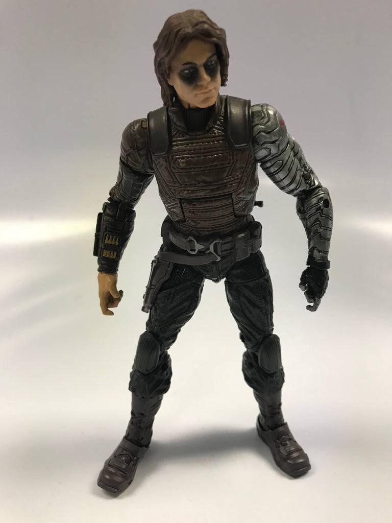 Hasbro Marvel Legends The Winter Soldier Bucky Barnes Loose Not Complete