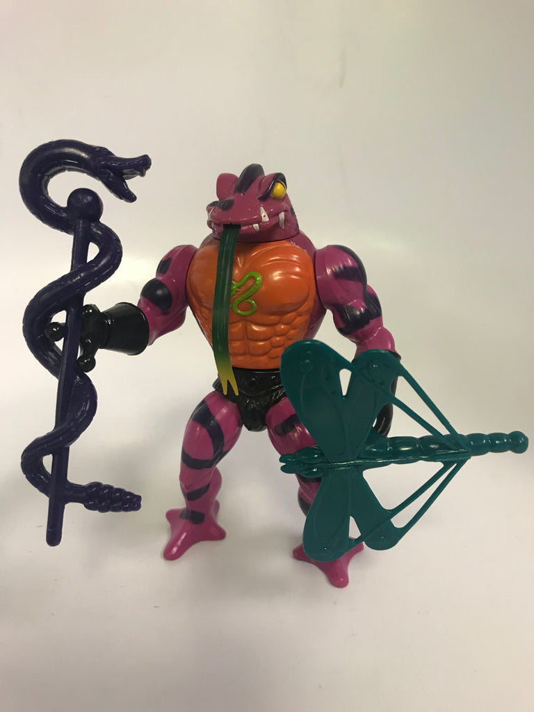 1983 Mattel He-Man & The Masters of the Universe MOTU Tongue Lasher Tung Lashor Loose Complete