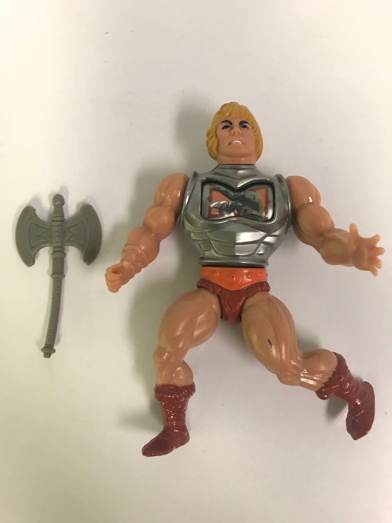 1983 Mattel He-Man & The Masters of the Universe Battle Armor He-Man Loose Not Complete