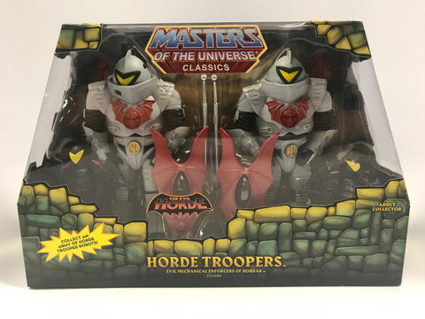 Mattel Masters of the Universe Classics MOTUC The Evil Horde Troopers Two Pack