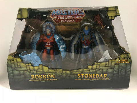 Mattel Masters of the Universe Classics MOTUC The Rock People Rokkon & Stonedar Two Pack