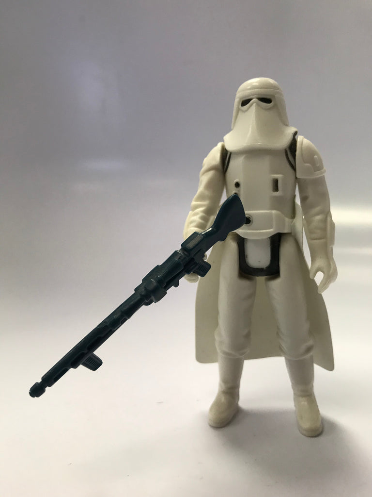 1980 Kenner Star Wars Imperial Snowtrooper In Hoth Battle Gear Loose Complete Snow White Condition