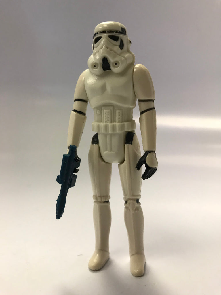 1980 Kenner Star Wars Imperial Stormtrooper Loose Complete Snow White Condition