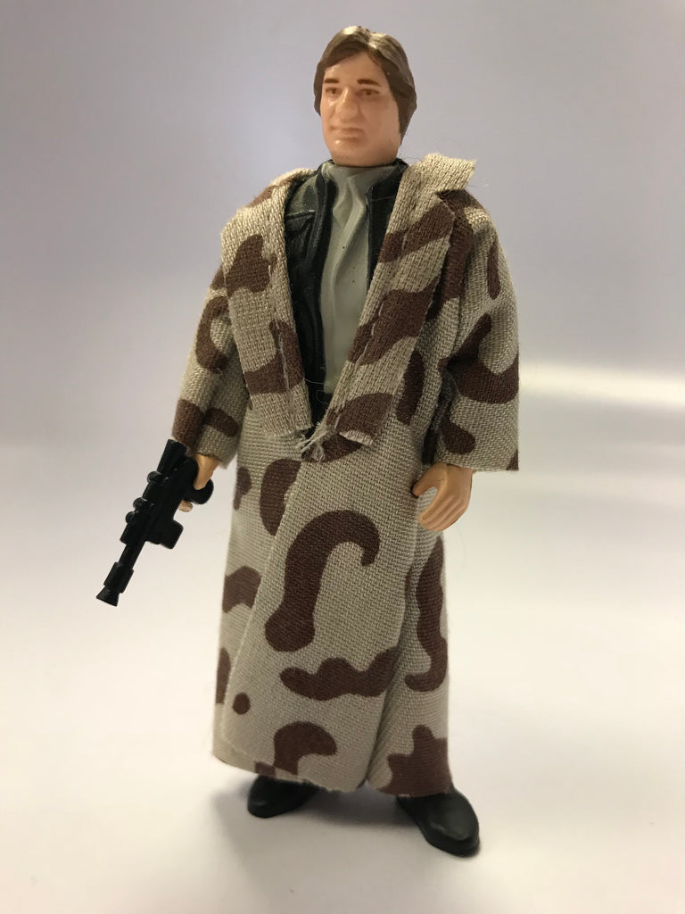 1983 Kenner Star Wars Han Solo Trenchcoat (Camo Lapel) Loose Complete