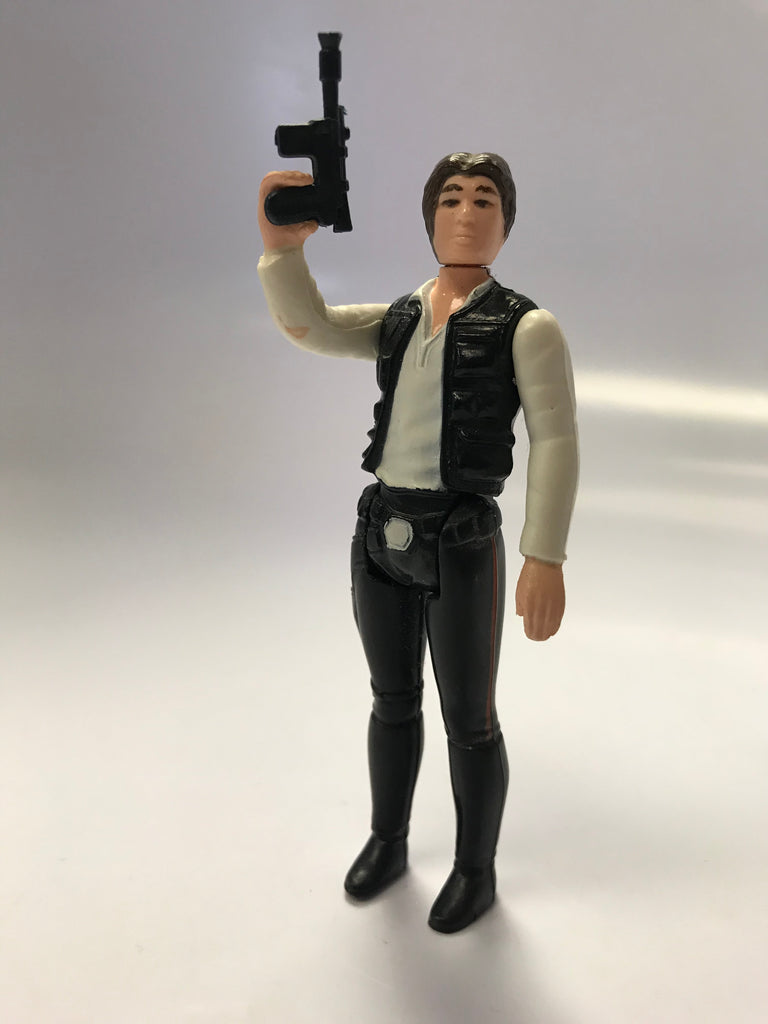 1978 Kenner Star Wars Han Solo Small Head Variant Loose Complete