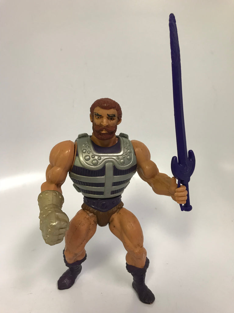 1983 Mattel He-Man & The Masters of the Universe Fisto Loose Complete