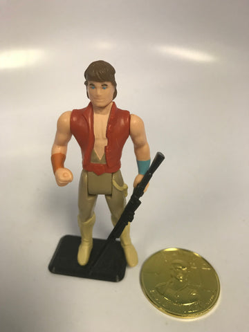 1985 Kenner Star Wars Droids Cartoon Jann Tosh With Coin Loose Complete