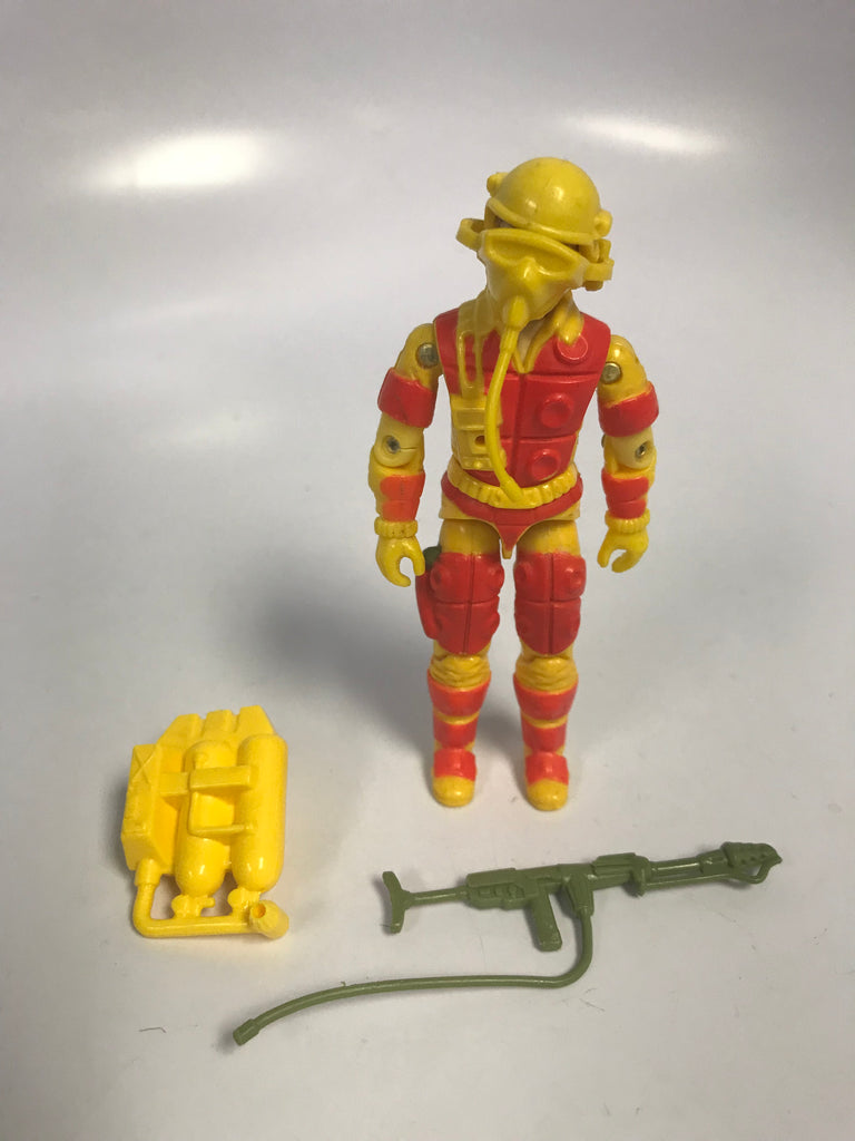 1982 Hasbro Gi Joe BLOWTORCH (v1) FLAMETHROWER Loose Complete