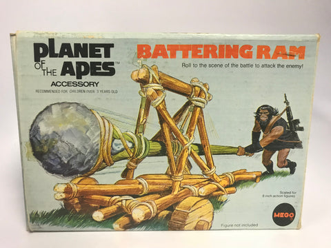 1974 Vintage Mego Planet of the Apes Battering Ram Complete In Original Box