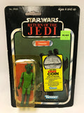 1983 Kenner Star Wars Return of the Jedi 77 Back Greedo (Made in Spain) MOC Sealed
