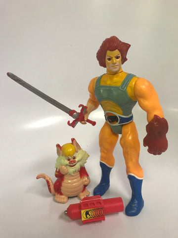 1985 LJN Thundercats Vintage Lion-O Loose Complete (Red Variant)