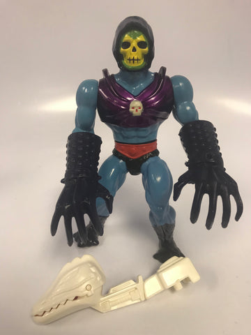 1984 Mattel He-Man & The Masters of the Universe Terror Claws Skeletor Loose Complete With Clip