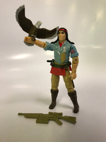 1984 Hasbro Gi Joe SPIRIT (v1) TRACKER Loose Complete