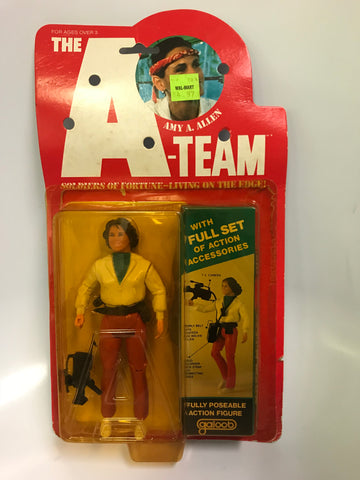 Vintage Galoob A-team 6 Inch Figure Amy A. Allen Fully Poseable