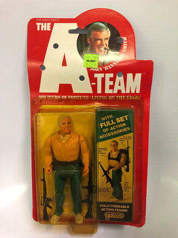"Vintage Galoob A-team 6 Inch Figure John ""Hannibal"" Smith Fully Poseable MOC Sealed"