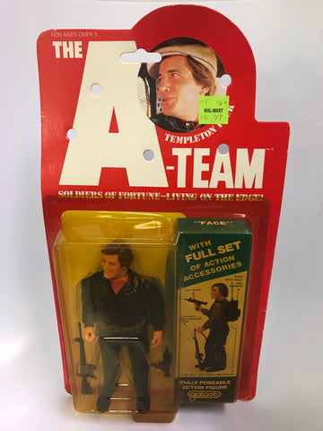 Vintage Galoob A-team 6 Inch Figure Templeton Peck Fully Poseable MOC Sealed