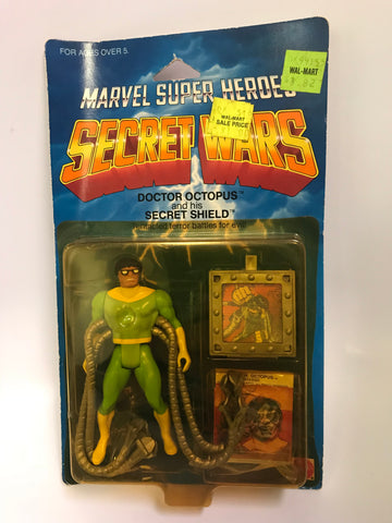 1984 Mattel Marvel Comics Secret Wars Doctor Octopus MOC Sealed Unopened