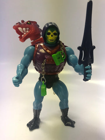 1985 Mattel He-Man & The Masters of the Universe MOTU Dragon Blaster Skeletor Loose Complete Amazing Condition