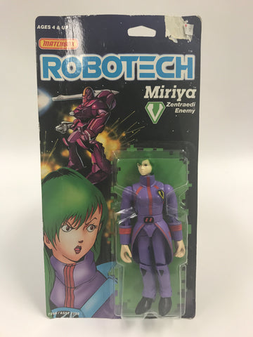 1985 Matchbox Robotech Miriya Zentraedi Enemy MOC SEALED UNOPENED