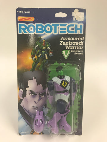 1985 Matchbox Robotech Armoured Zentraedi Warrior Zentraedi Enemy MOC SEALED UNOPENED