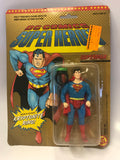 1989 Toy Biz DC Comics Super Heroes Superman Super Powers Style MISP MOC SEALED