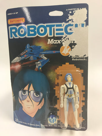 1985 Matchbox Robotech Max Sterling MOC SEALED UNOPENED
