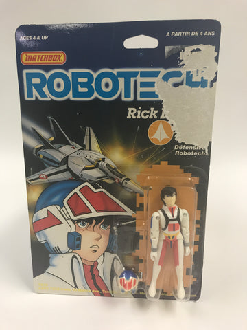 1985 Matchbox Robotech Rick Hunter MOC SEALED UNOPENED