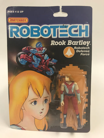 1985 Matchbox Robotech Rook Bartley MOC SEALED UNOPENED