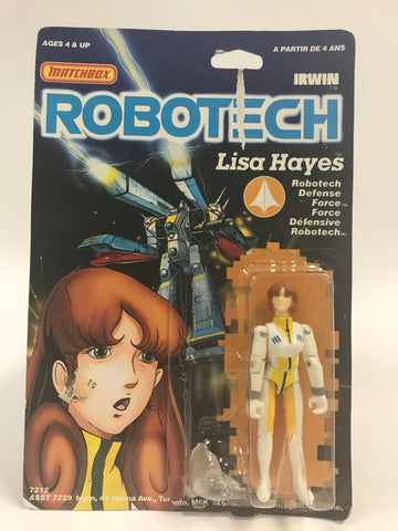 1985 Matchbox Robotech Lisa Hayes MOC SEALED UNOPENED