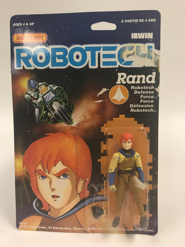 1985 Matchbox Robotech Rand MOC SEALED UNOPENED