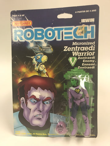 1985 Matchbox Robotech Micronized Zentraedi Warrior MOC SEALED UNOPENED