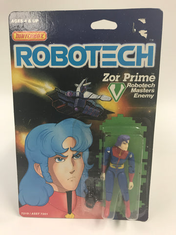 1985 Matchbox Robotech Zor Prime MOC SEALED UNOPENED