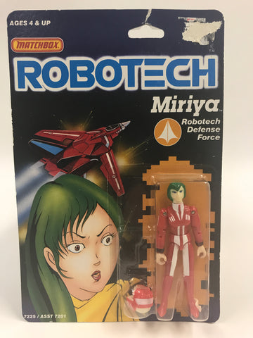 1985 Matchbox Robotech Miriya Robotech Defense MOC SEALED UNOPENED