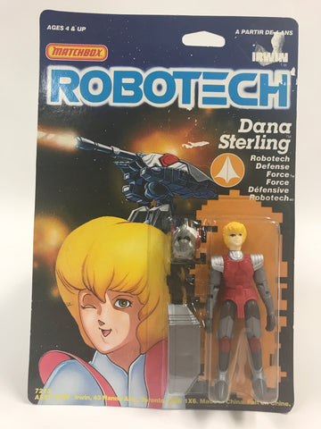 1985 Matchbox Robotech Dana Starling Robotech Defense MOC SEALED UNOPENED