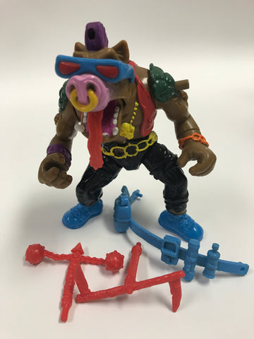 Playmates Teenage Mutant Ninja Turtles TMNT Headspinnin' Bebop Loose Complete