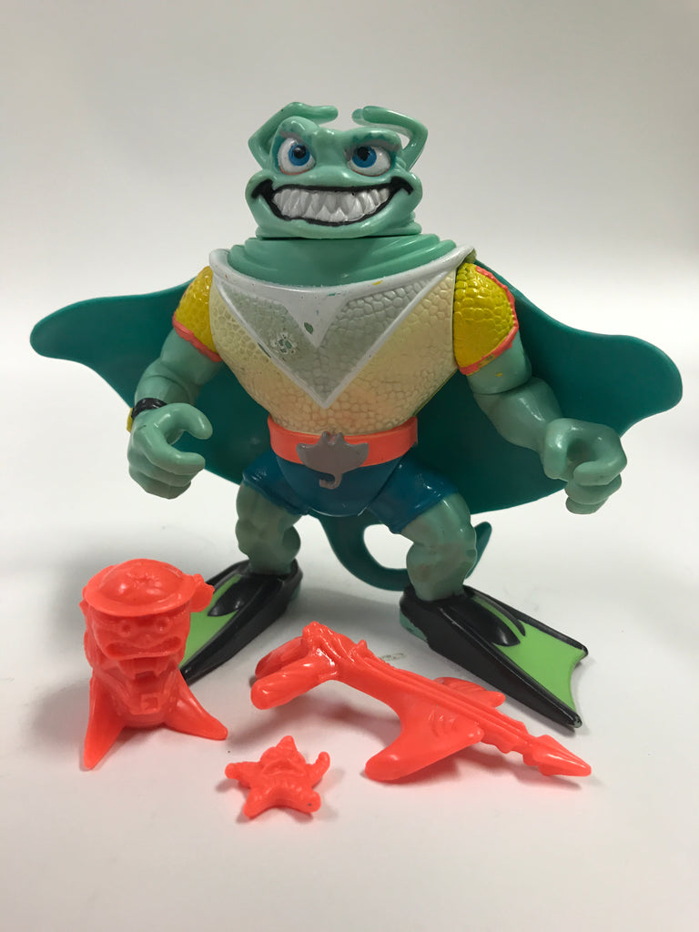 Playmates Teenage Mutant Ninja Turtles TMNT Ray Fillet Loose Complete