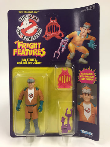 1986 Kenner The Real Ghostbusters Fright Features Ray Stantz SEALED MOC UNOPEN