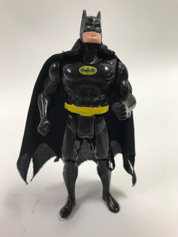 1989 Estrela Batman Michael Keaton Tim Burton Super Powers Toy Biz Black Batman