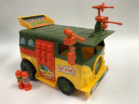 Playmates Teenage Mutant Ninja Turtles TMNT Party Wagon Vehicle Loose Complete