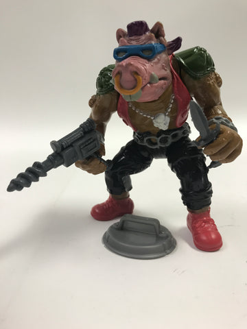 Playmates Teenage Mutant Ninja Turtles TMNT Soft Head Bebop Loose Complete