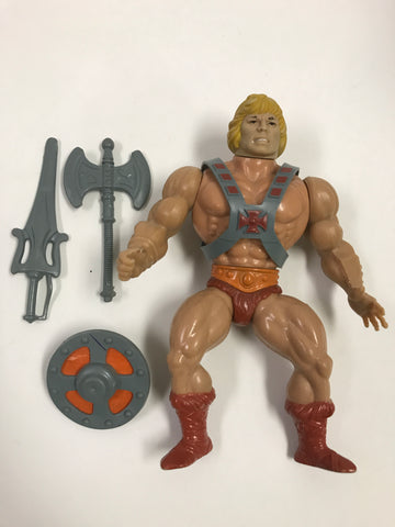1983 Mattel He-Man & The Masters of the Universe He-Man Loose Complete
