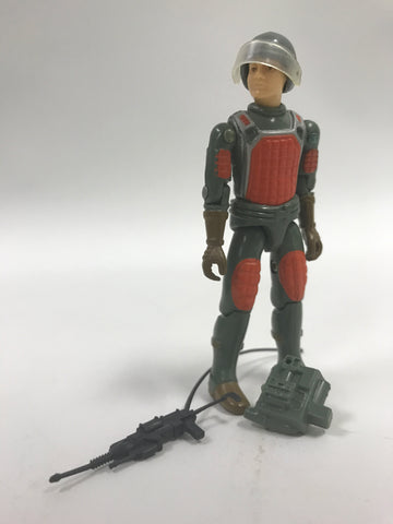 1982 Hasbro GI Joe FLASH (v1)  LASER RIFLE TROOPER (straight-armed) Loose