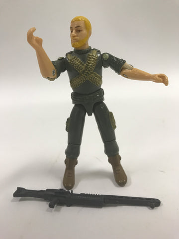 1982 Hasbro GI Joe ROCK 'N ROLL (v1)  MACHINE GUNNER (straight-armed)   Loose