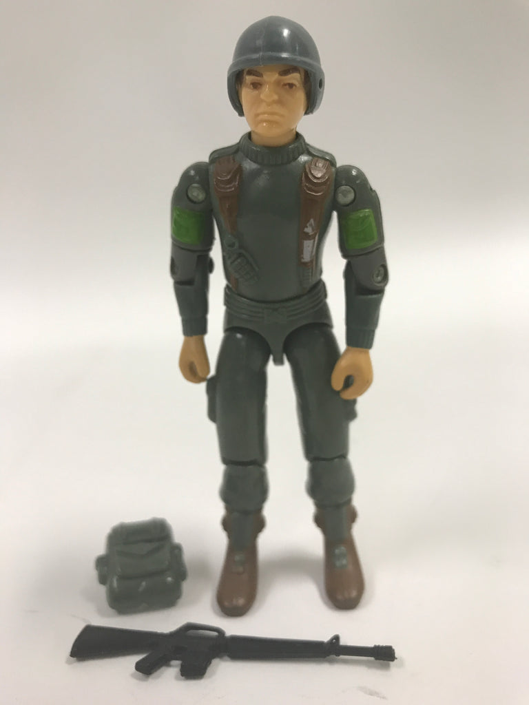 1982 Hasbro GI Joe GRUNT (v1)  INFANTRY TROOPER (straight-armed) Loose