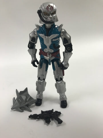 1987 Hasbro GI Joe Armored Cobra Commander Loose (V3)