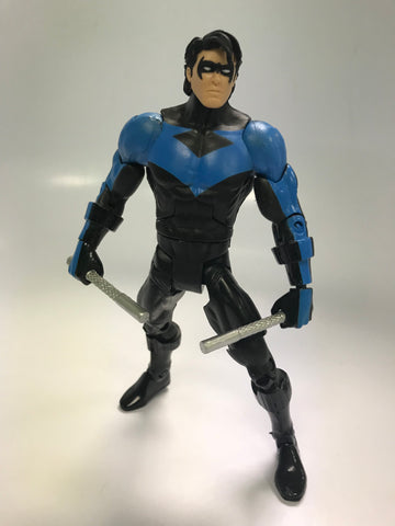 Mattel DC Comics Universe Classics Nightwing Dick Grayson Loose Complete
