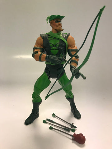 Mattel DC Comics Universe Classics The Green Arrow Oliver Queen Loose Complete