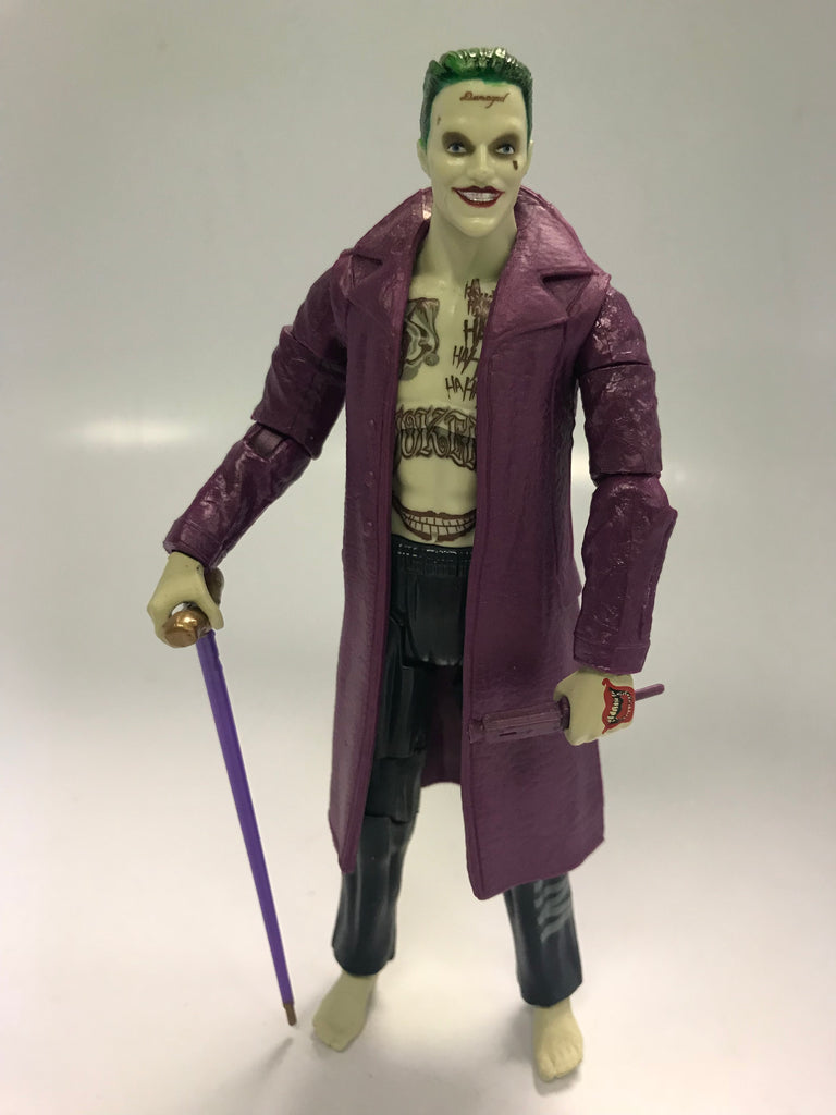 Mattel DC Comics Multiverse Suicide The Joker DCCU Movie Loose Complete