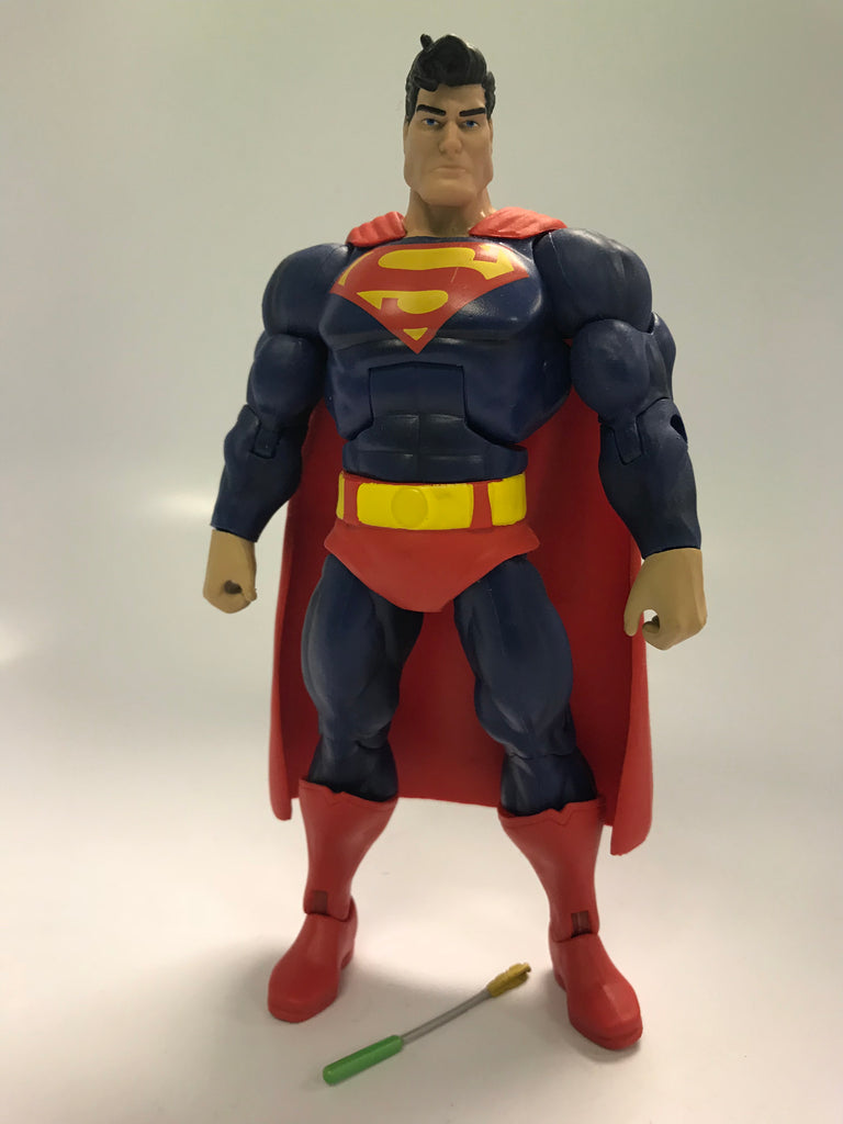 Mattel DC Comics Multiverse The Dark Knight Returns Superman Loose Complete