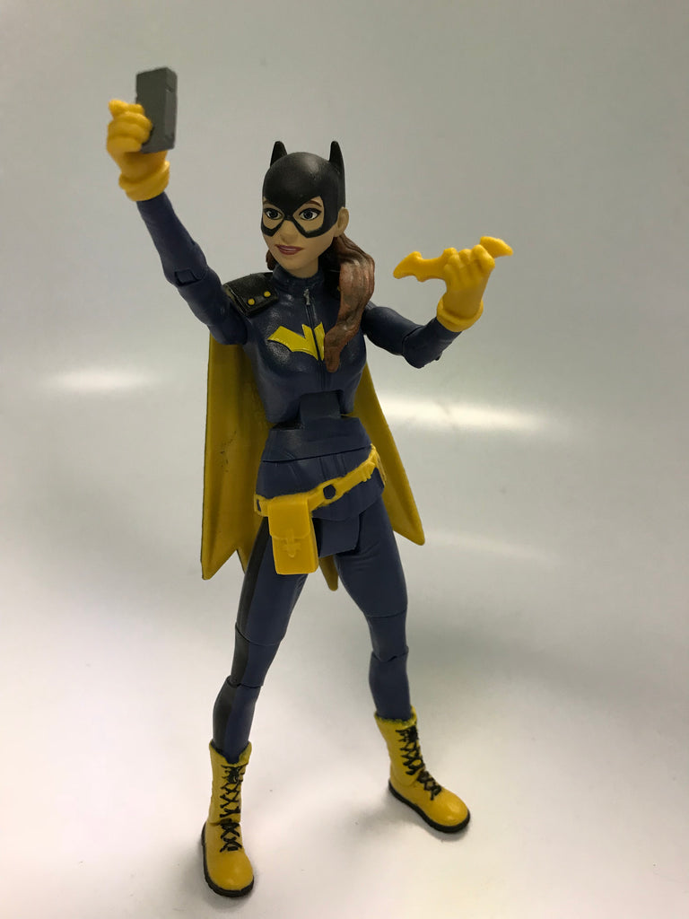 Mattel DC Comics Multiverse King Shark BAF Wave Batgirl Barbara Gordon Loose Complete